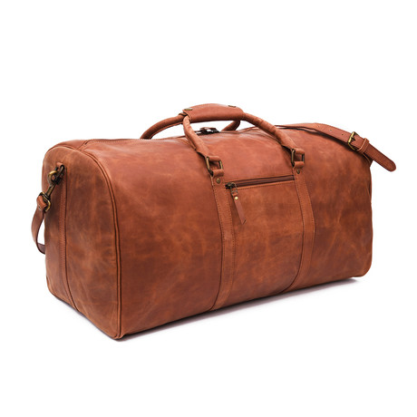 "Wilson Leather Duffle 23.5"" // Tan"