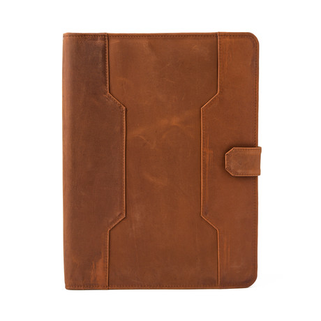 Leather Business Portfolio // Saddle