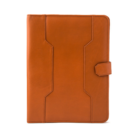 Leather Business Portfolio // Tan