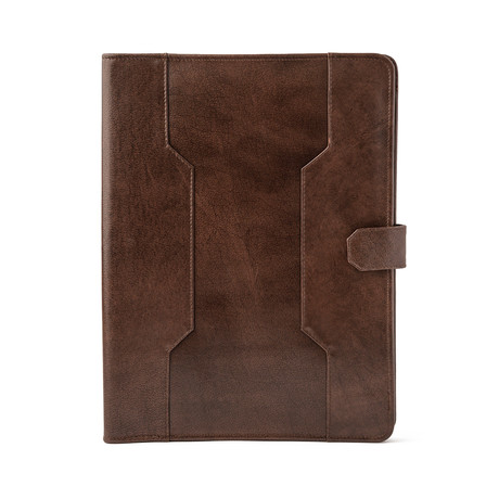 Leather Business Portfolio // Antique Brown