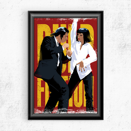 "Pulp Fiction (11""W x 17""H)"