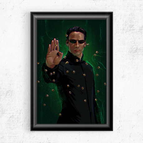 "The Matrix (11""W x 17""H)"