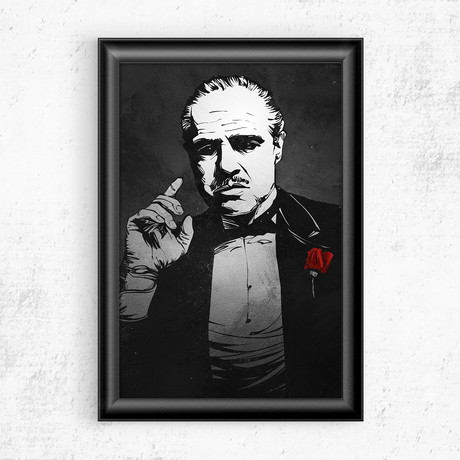 "The Godfather (11""W x 17""H)"