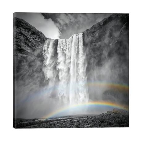 "Iceland Skogafoss // Melanie Viola (26""W x 26""H x 1.5""D)"