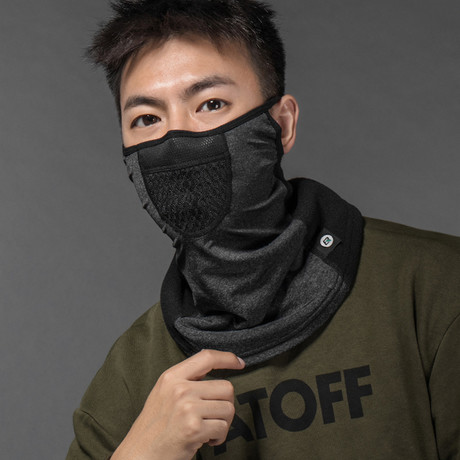 Quarter Face Cover // No Filter