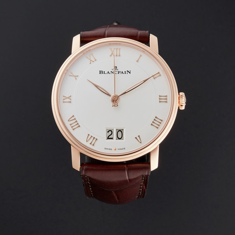 Blancpain Villeret Grand Date Automatic // 6669-3642-55A // New