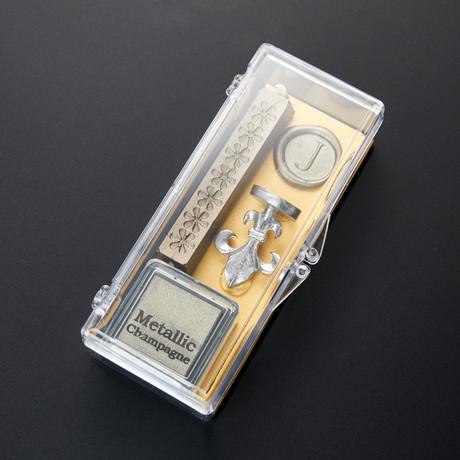 Clear & Classy Alphabet Wax Seal Set // J