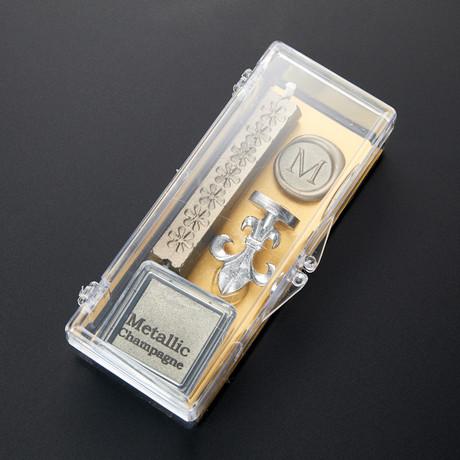 Clear & Classy Alphabet Wax Seal Set // M