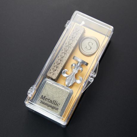 Clear & Classy Alphabet Wax Seal Set // S