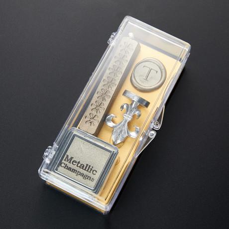 Clear & Classy Alphabet Wax Seal Set // T