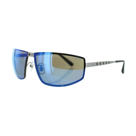 Men's Square S80P Sunglasses // Satin Palladium