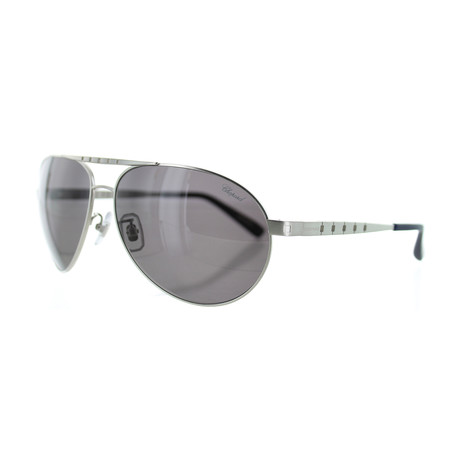 Women's Aviator S80P Sunglasses // Silver