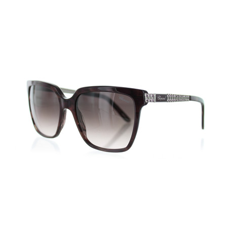 Women's Square 0VAA Sunglasses // Shiny Purple