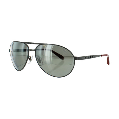 Men's Square 8G3P Sunglasses // Ruthenium