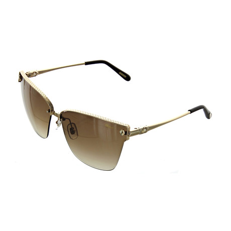Women's Cat Eye 0300 Sunglasses // Gold