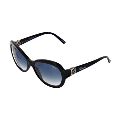 Women's Round 0V84 Sunglasses // Dark Blue