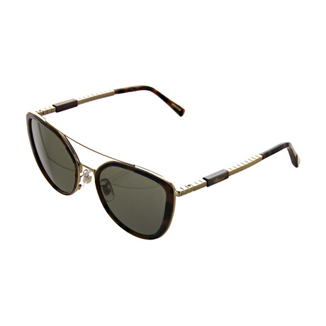 Women's Cat Eye 08FE Sunglasses // Gold + Tortoise