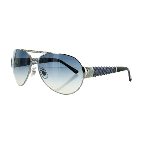 Women's Aviator 0579 Sunglasses // Shiny Palladium