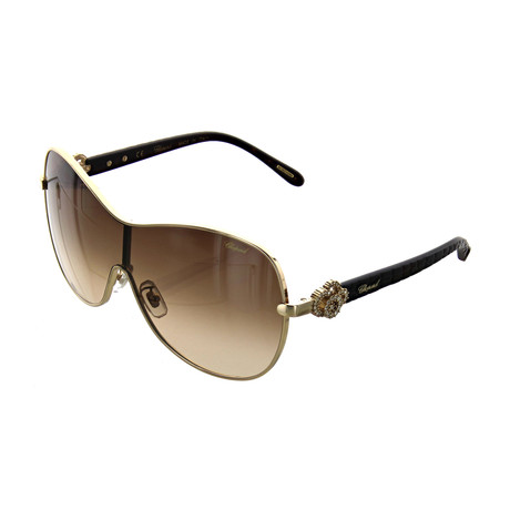 Women's Shield 0300 Sunglasses // Shiny Rose Gold