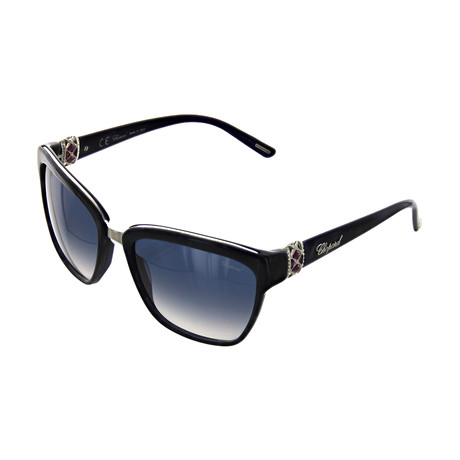 Women's Square 0V84 Sunglasses // Dark Blue Feathers