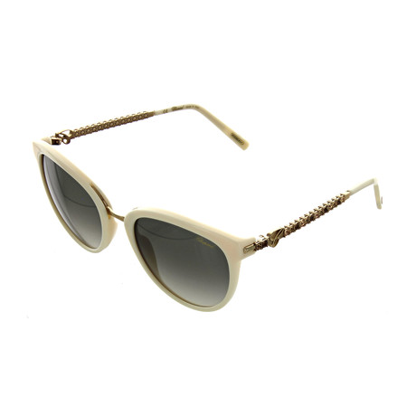 Women's Square 0702 Sunglasses // Ivory
