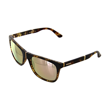 Women's Square 738X Sunglasses // Matte Havana