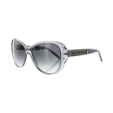 Women's Square 0M78 Sunglasses // Crystal Gray