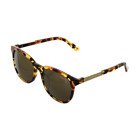 Women's Square 0AHR Sunglasses // Havana