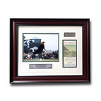 Payne Stewart // Framed 1999 U.S. Open Ticket Collage