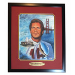 Joe Montana // Signed + Inscribed 49ers Photo