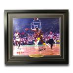 Magic Johnson // Signed + Framed Los Angeles Lakers Photo