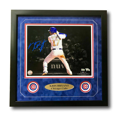 Kris Bryant // Signed +Framed Cubs Photo