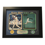 Ken Griffey Jr. // Signed+ Framed Mariners Photo Collage