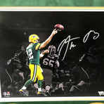 Aaron Rodgers // // Signed + Framed Packers Photo