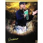 Jim Harbaugh // Signed + Framed Michigan Photo