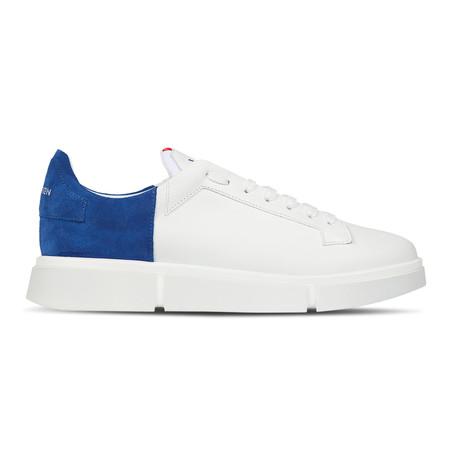 Albert // White + Cobalt Blue (Euro: 40)