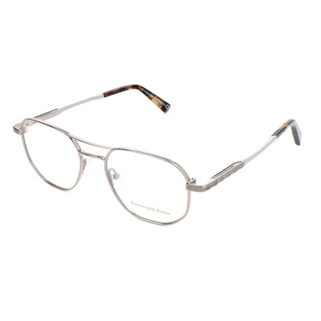 Men's EZ5117 Optical Frames // Shiny Light Ruthenium