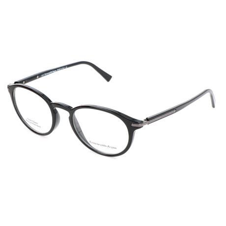 Men's EZ5042 Optical Frames // Shiny Black