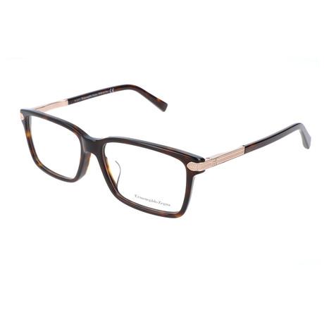 Men's EZ5009-F Optical Frames // Dark Havana