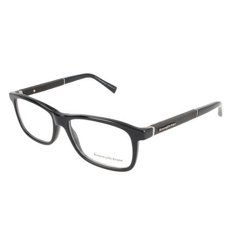 Men's EZ5013 Optical Frames // Shiny Black