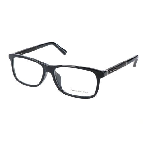 Men's EZ5013-F Optical Frames // Shiny Black