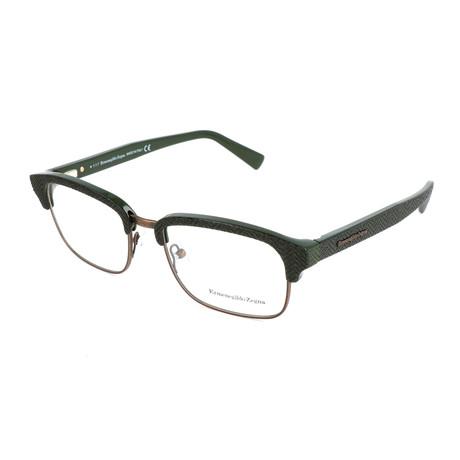 Men's EZ5100 Optical Frames // Shiny Dark Green