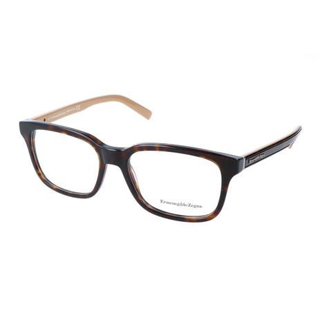 Men's EZ5022 056 Optical Frames // Havana