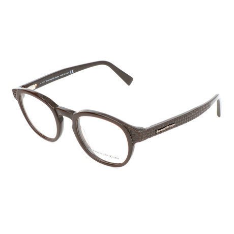 Men's EZ5108 Optical Frames // Dark Brown