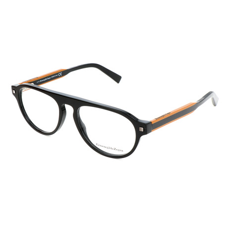 Men's EZ5127 001 Optical Frames // Shiny Black