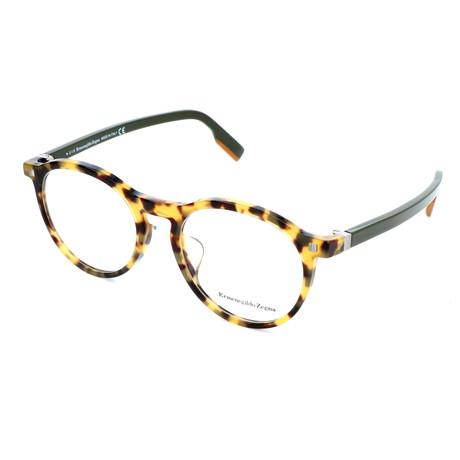 Men's EZ5122-F Optical Frames // Colored Havana