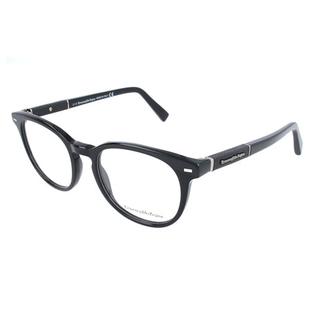 Men's EZ5036 Optical Frames // Shiny Black
