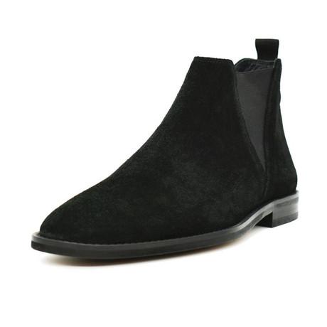 Chelsea Suede Boot // Black (Euro: 38)