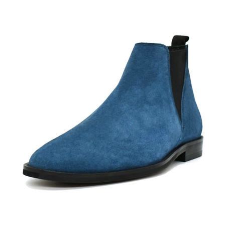 Chelsea Suede Boot // Blue (Euro: 38)