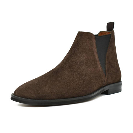 Chelsea Suede Boot // Brown (Euro: 38)